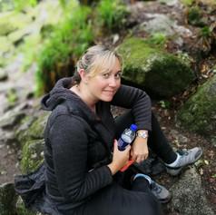 Sitting in gorge