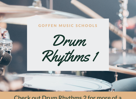 Drum Rhythms 1 - Beginner to Grade 1