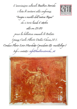 Conference: Flags and insignias of ancient Rome