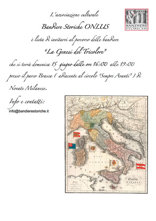 Bandiere Storiche presents: The Genesis of the Italian Flag @ Novate Milanese