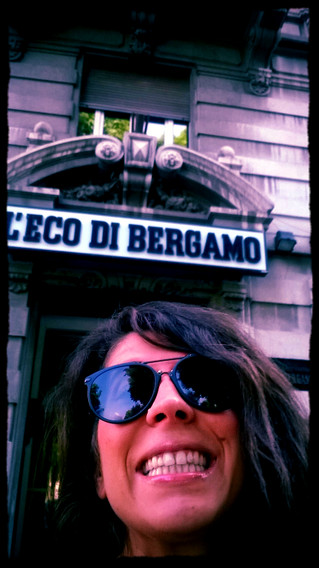Last week experience at Bergamo TV and Radio Alta