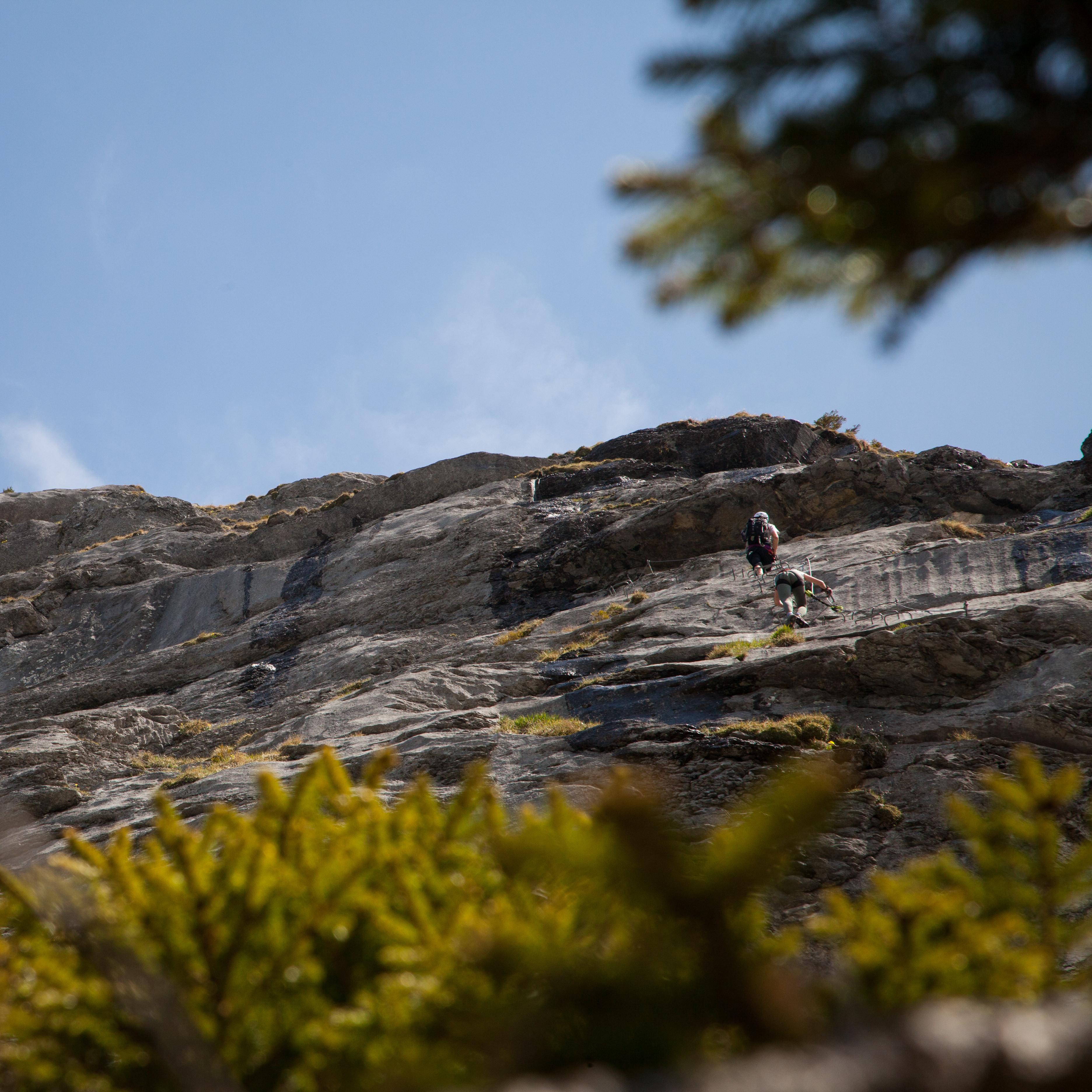 Individuelle geführte Klettersteigtour