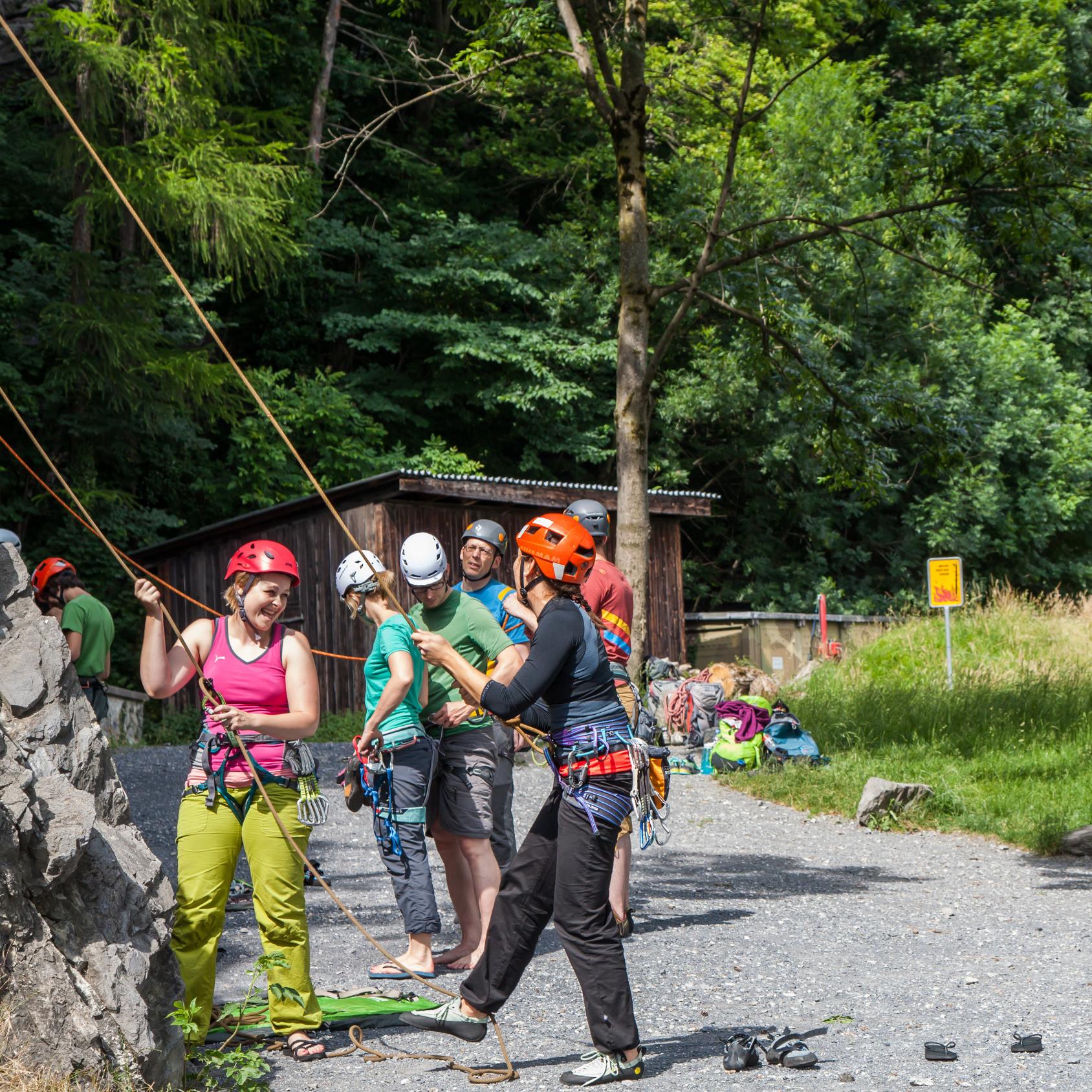 Kletterkurs für Schulklassen & Gruppen