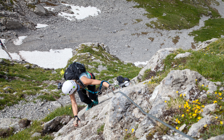 Klettersteig Einführungskurs Engelberg