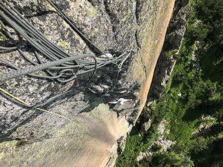 Neue Kletterroute am Grimselpass
