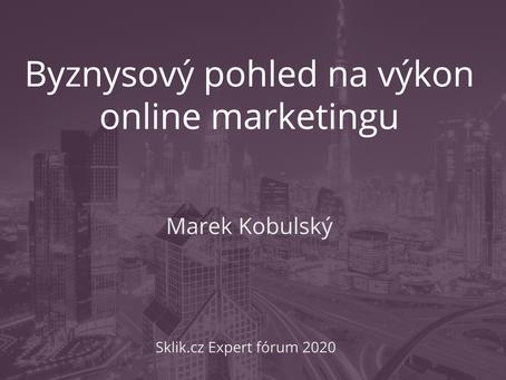 Kompletní prezentace z Sklik.cz Expert fórum 2020