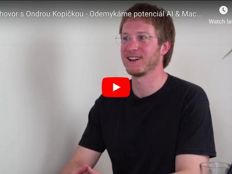 Video: rozhovor s Ondrou Kopičkou - AI & Machine Learning v e-commerce