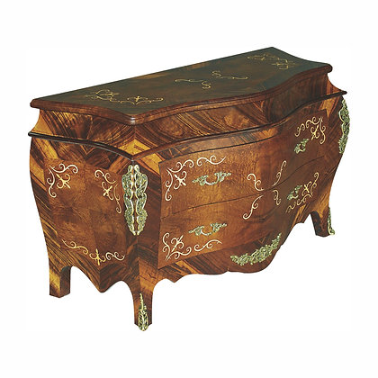 001/050  Bombe Commode 53.15 x 21.26 x 30.31 in