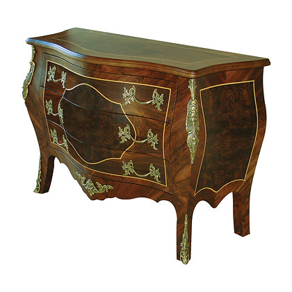 001/001  Bombe Commode 53.15 x 21.65 x 35.43 in