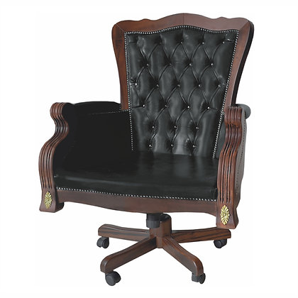 013/090  Library Chair 31.50 x 28.35 x 45.28 in