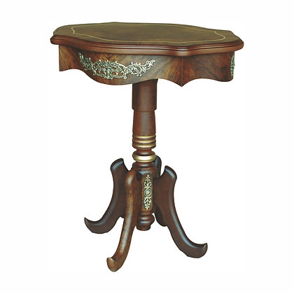 005/012  Oval Side Table 27.95 x 22.05 x 31.10 in