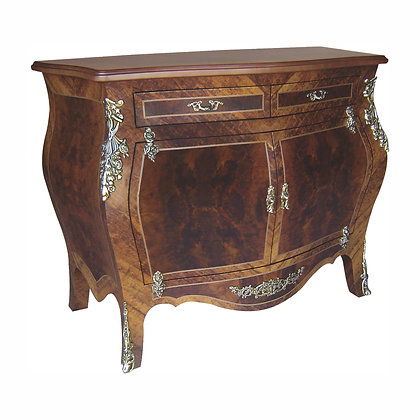 001/048  Bombe Commode 46.85 x 22.44 x 35.43 in