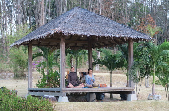 Yoga in Thailand, Januar 2015