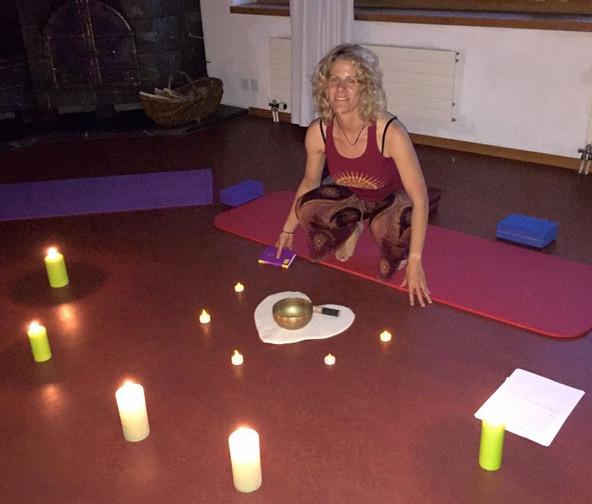 Yoga-Weekend im Bündnerland mit Beat, August 2016