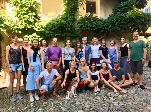 Sommerretreat im Tessin mit Beat, August 2019