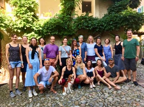 Sommerretreat im Tessin mit Beat, August 2019