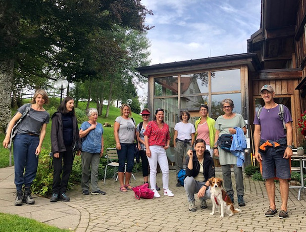Yoga, Wandern & Kultur Appenzell, August 2020