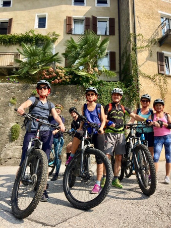 Yoga, Hike & E-Bike im Tessin, August 2019