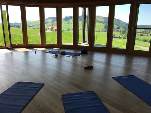 Yoga und Wandern Appenzell, Juli 2018