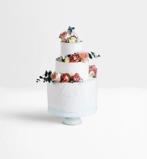 Dekorerad Layered Cake