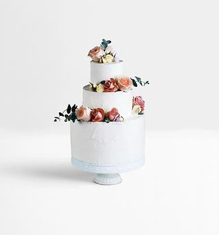 装飾されたレイヤーケーキ