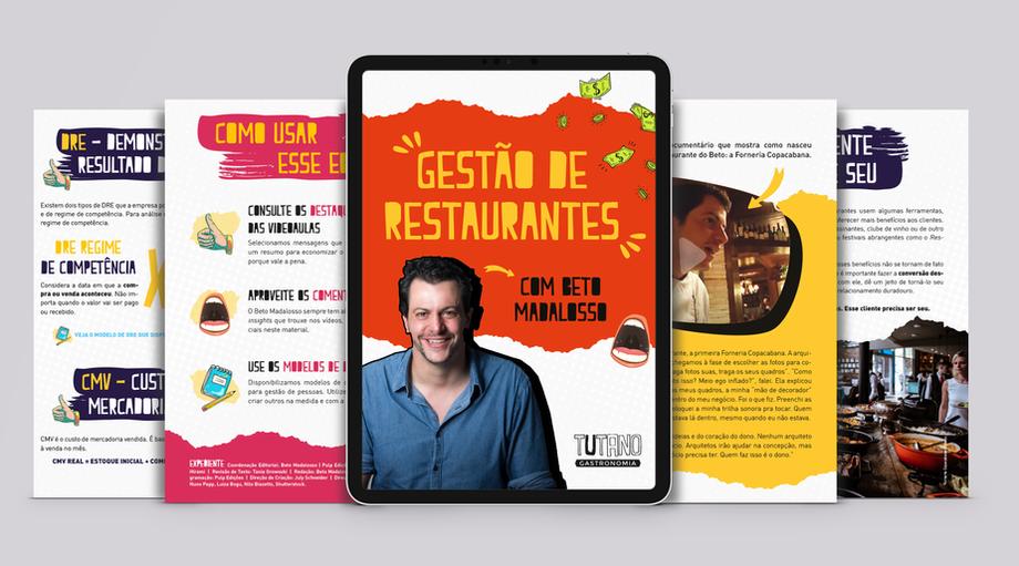 Ebook Gestão de Restaurantes