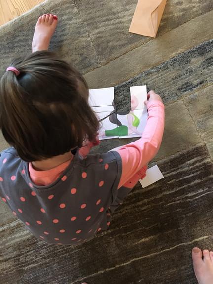 Puzzle-posture