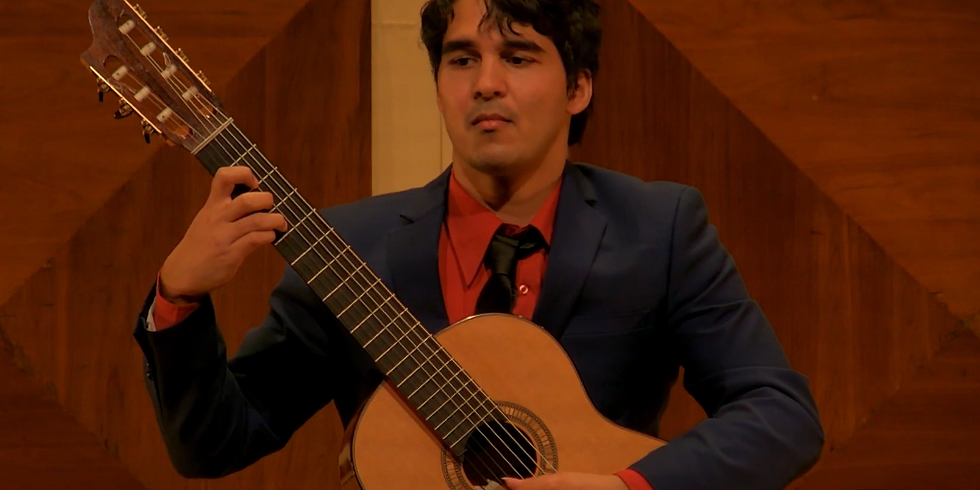 Concert: The Classical Guitar and Beyond, with Daniel Ramjattan