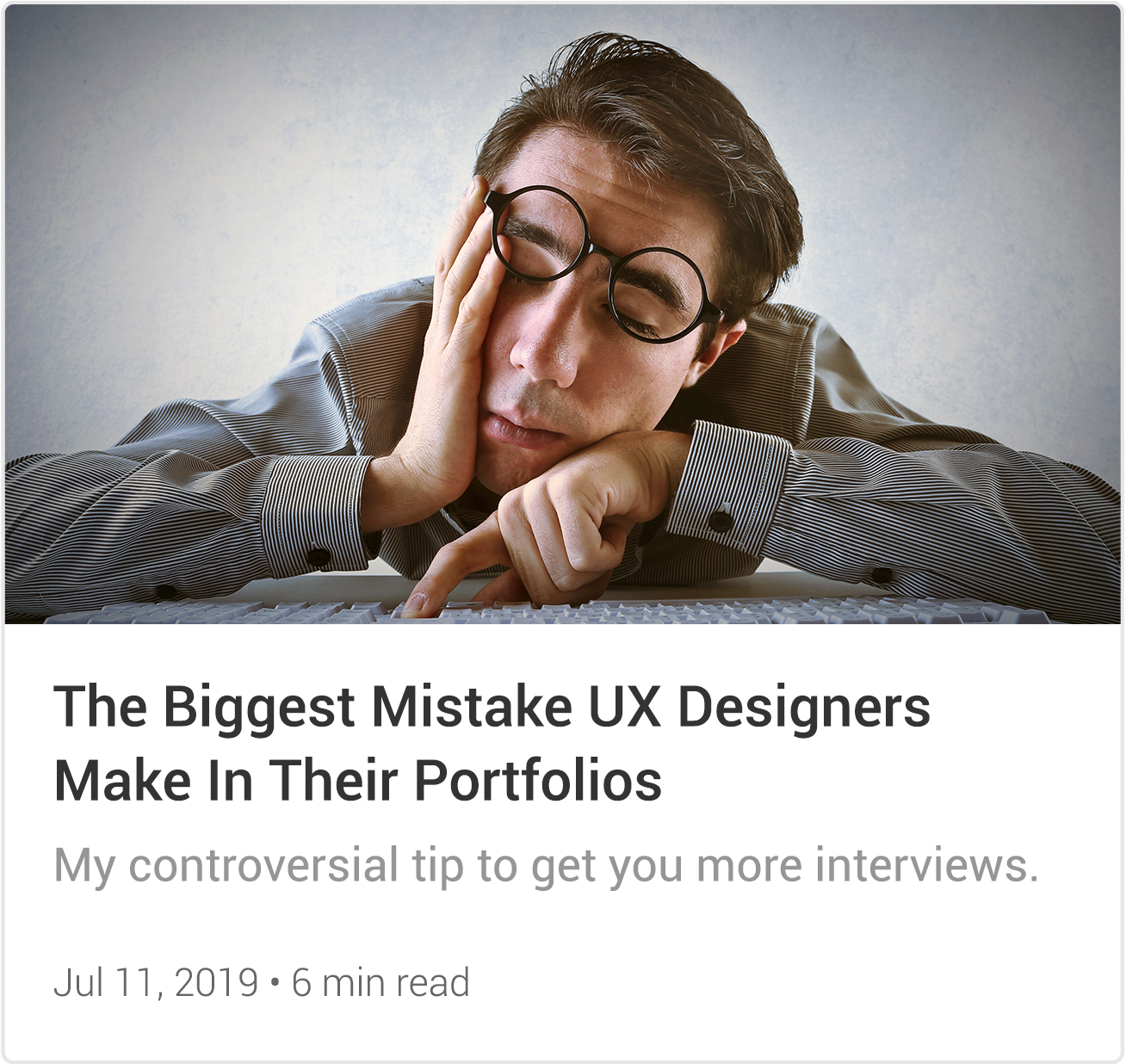 Read-Biggest-UX-Design-Mistake
