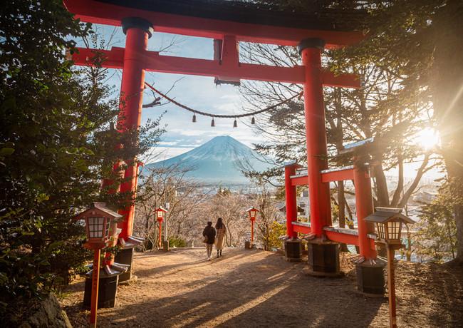 Gate to Mt. Fuji