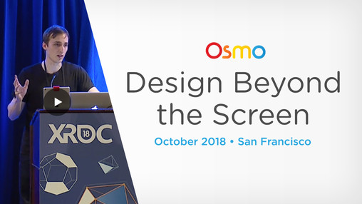 Design Beyond the Screen: Mixed Reality at Osmo