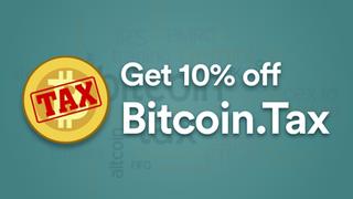 Get 10% off Bitcoin.Tax