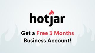 Hotjar 3 Month Business Account