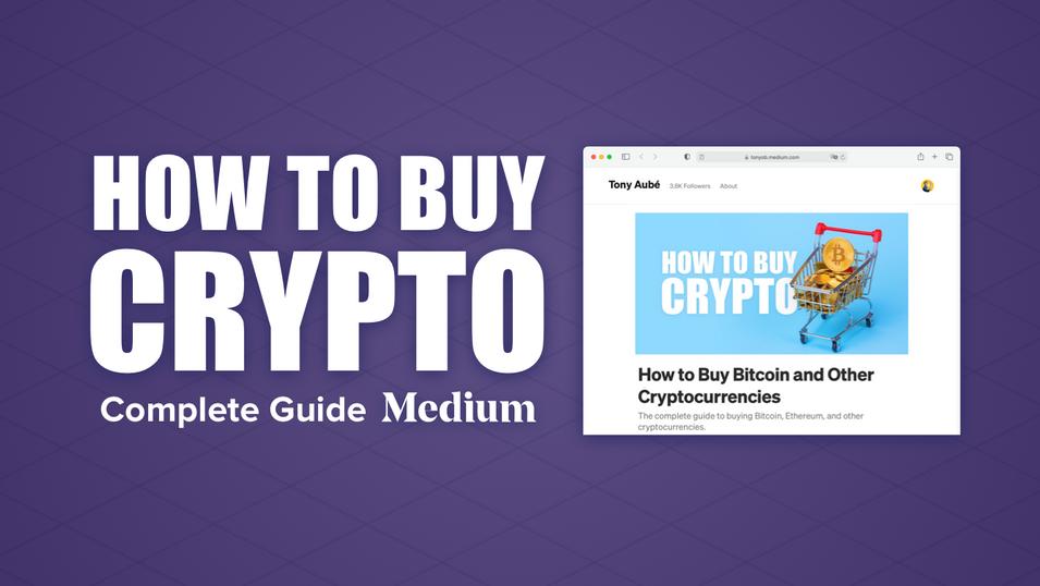 How to Buy Crypto