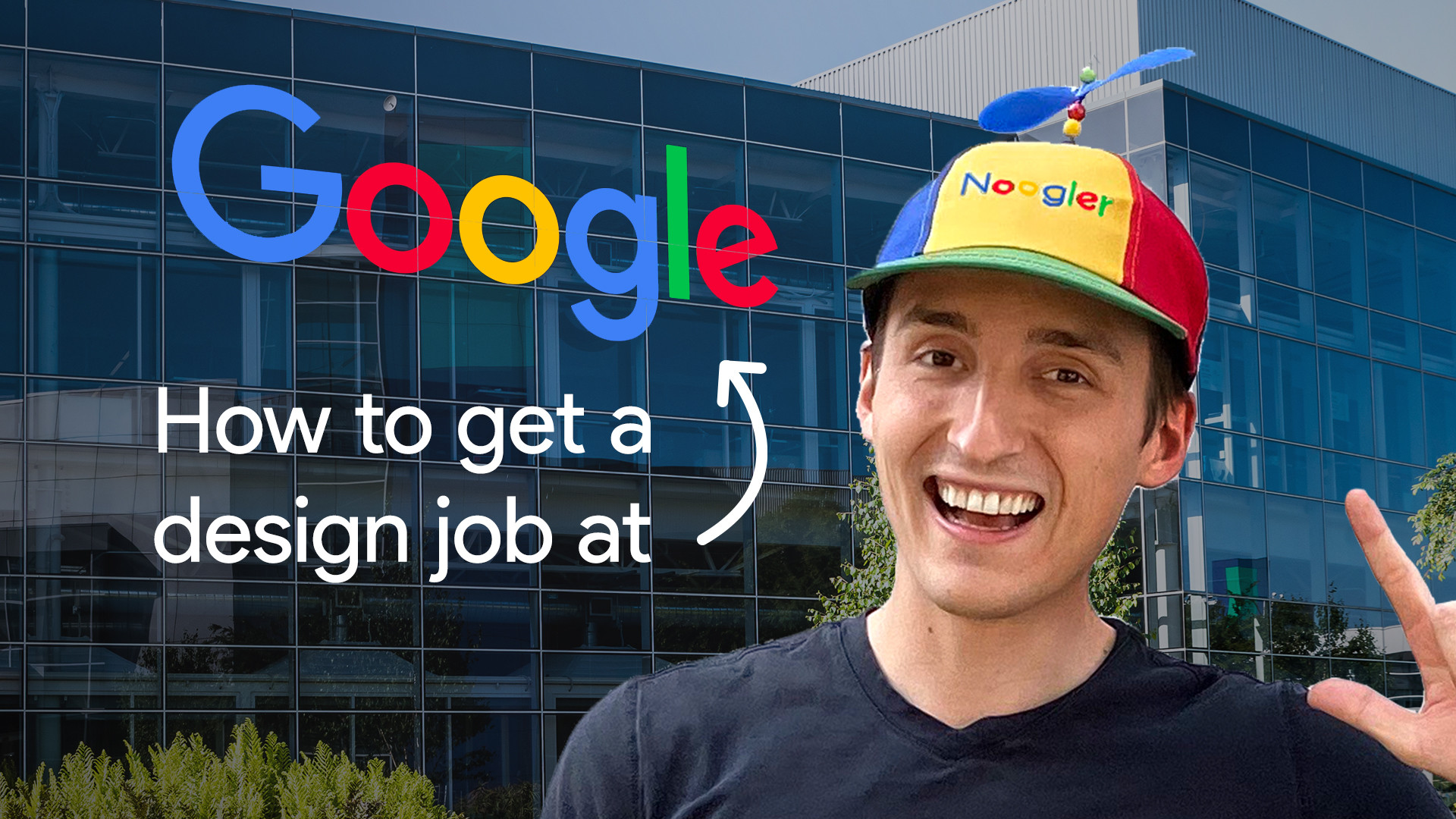 How to get a design job at Google