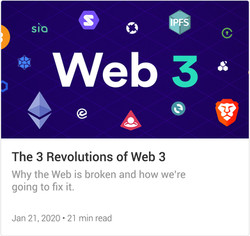 The 3 revolutions of Web 3