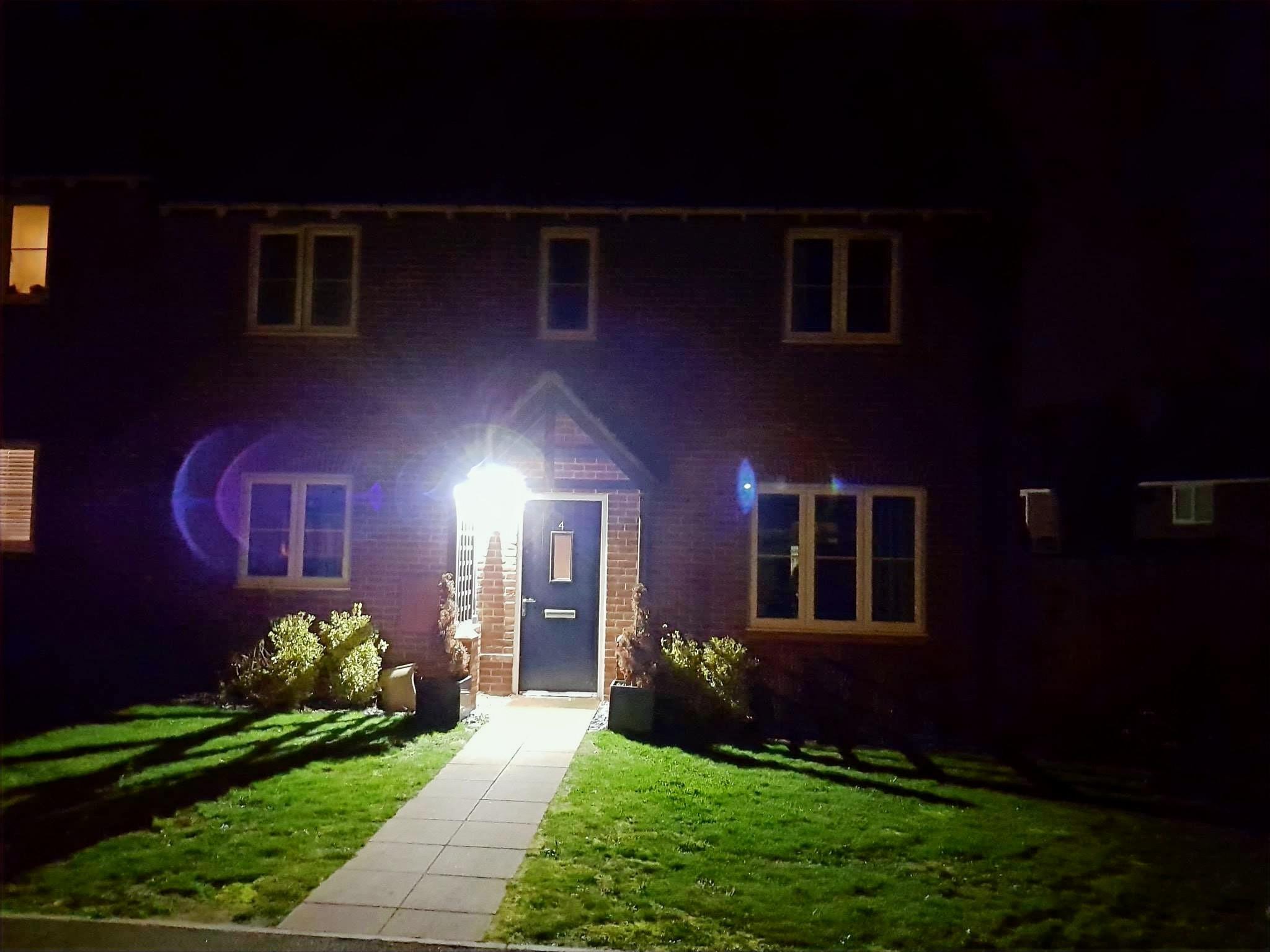 Security lighting installations