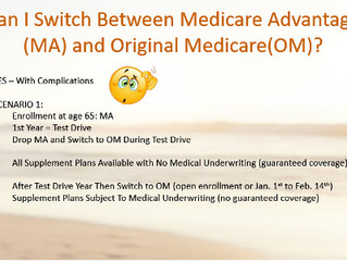Can I Switch From Medicare Advantage to Original Medicare?