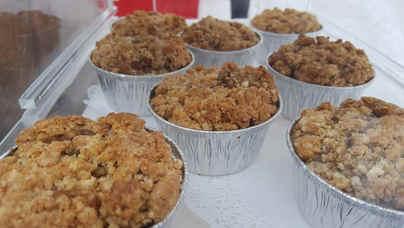 Pumpkin Crumble Muffin