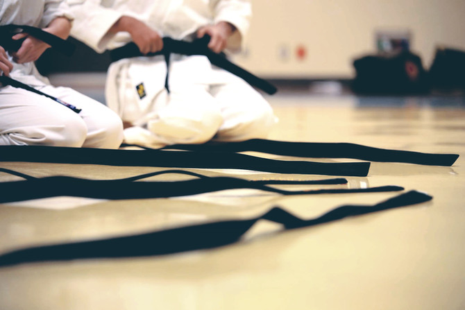 Time to earn that karate black belt???