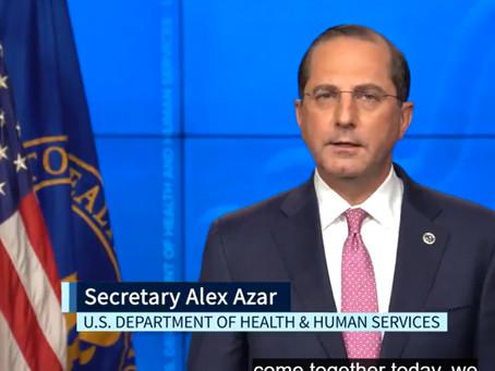 Secretary Alex Azar – You Can Leave a Lasting Legacy for the Celiac Community
