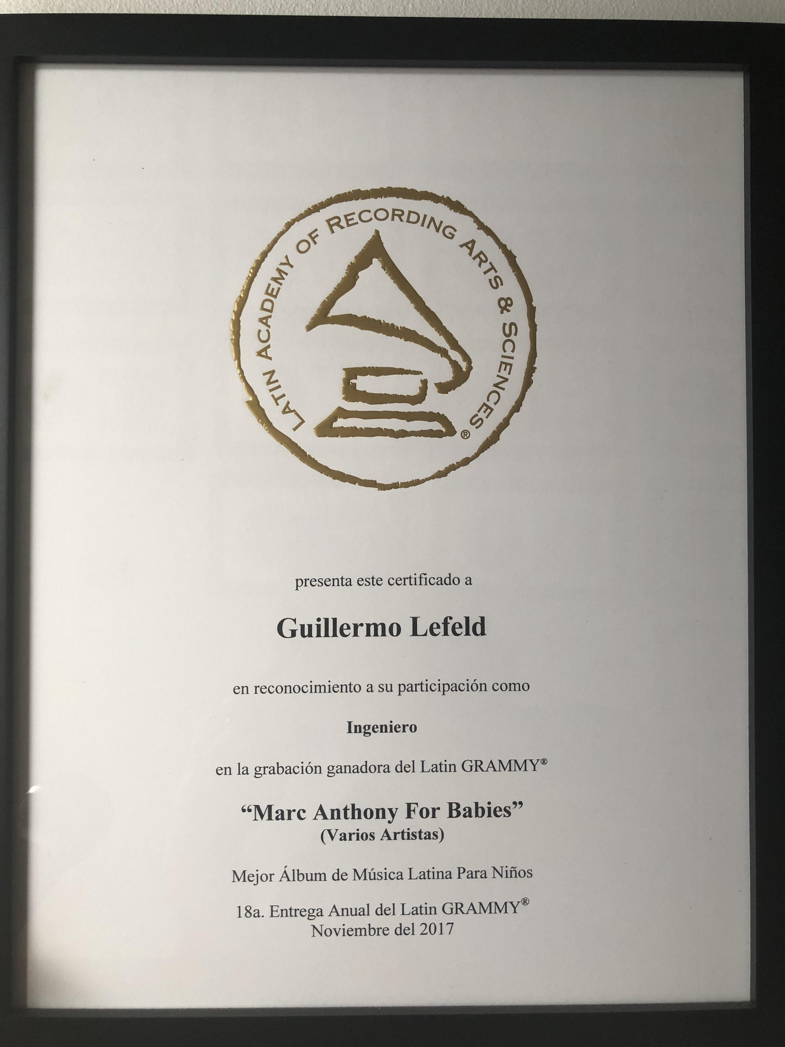 Grammy Certificate_2