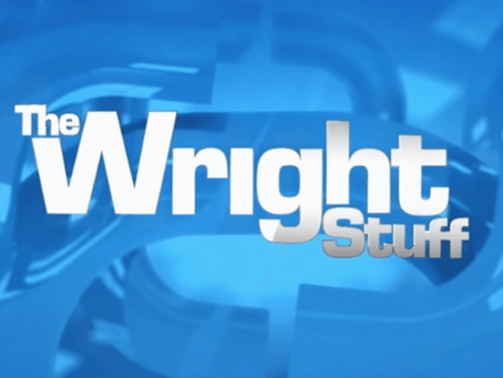 Max To Appear on The Wright Stuff!