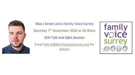 Max To Speak at Family Voice Surrey!