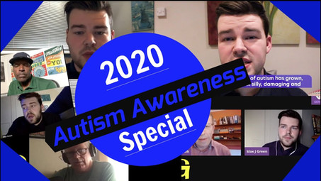 Autism Awareness  Special! (Online Events and PODCASTS) - Video Now Available
