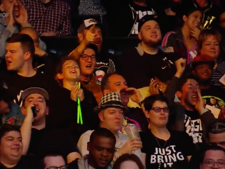 Max Spotted on WWE TV!