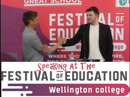 Festival Of Education - Video Is Now Available
