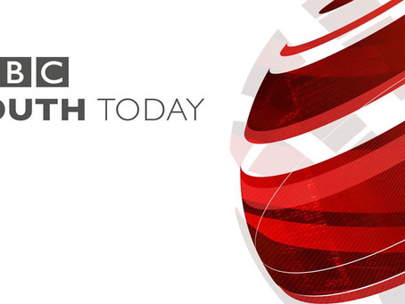 Max Starred on BBC South Today News!