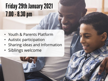 Max Makes Surprise Speech at A2ndVoice Autism Youth & Parents Forum #COVID19! (Online Live Event)