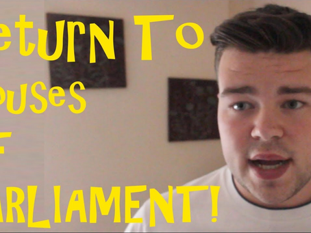Houses of Parliament - Video Is Now Available!